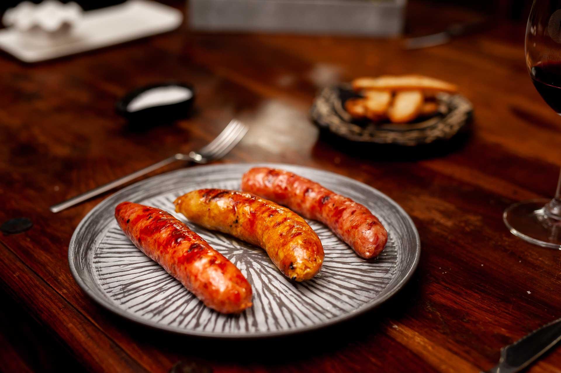 3 Chorizos, Criollo Argentino y Colombiano