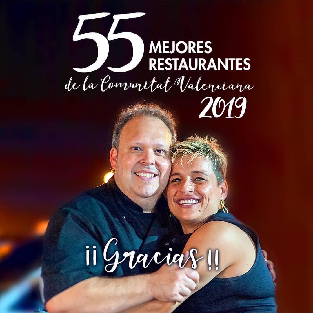 55 mejores restaurantes de la comunitat Valenciana 2019