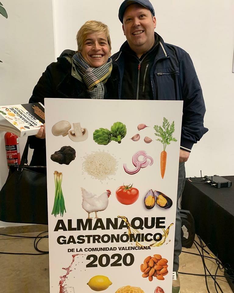 Restaurante Instinto Carnívoro en el almanaque gastronómico de la Comunidad Valenciana 2020