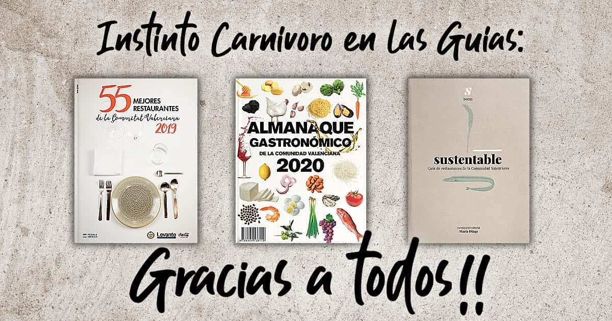 Restaurante Instinto Carnívoro en las Guías.